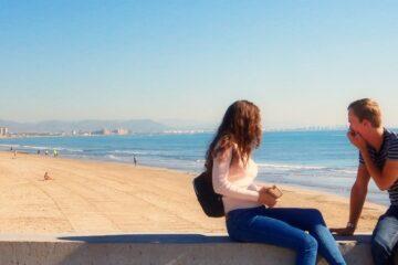 vivere valencia - romantica in spiaggia