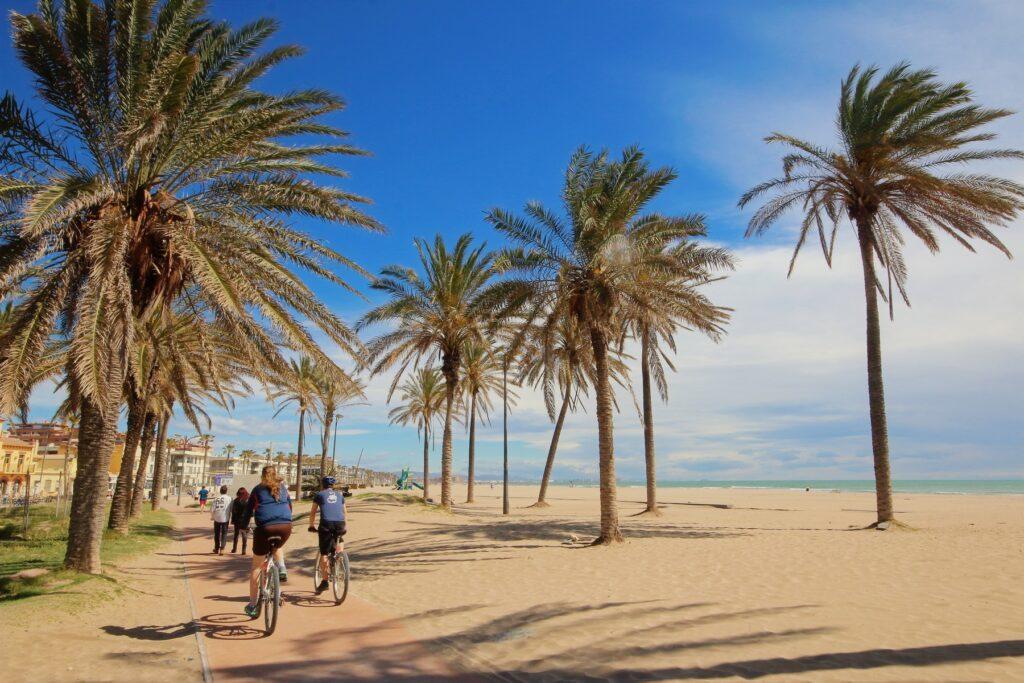 visitare Valencia con i bambini: la spiaggia