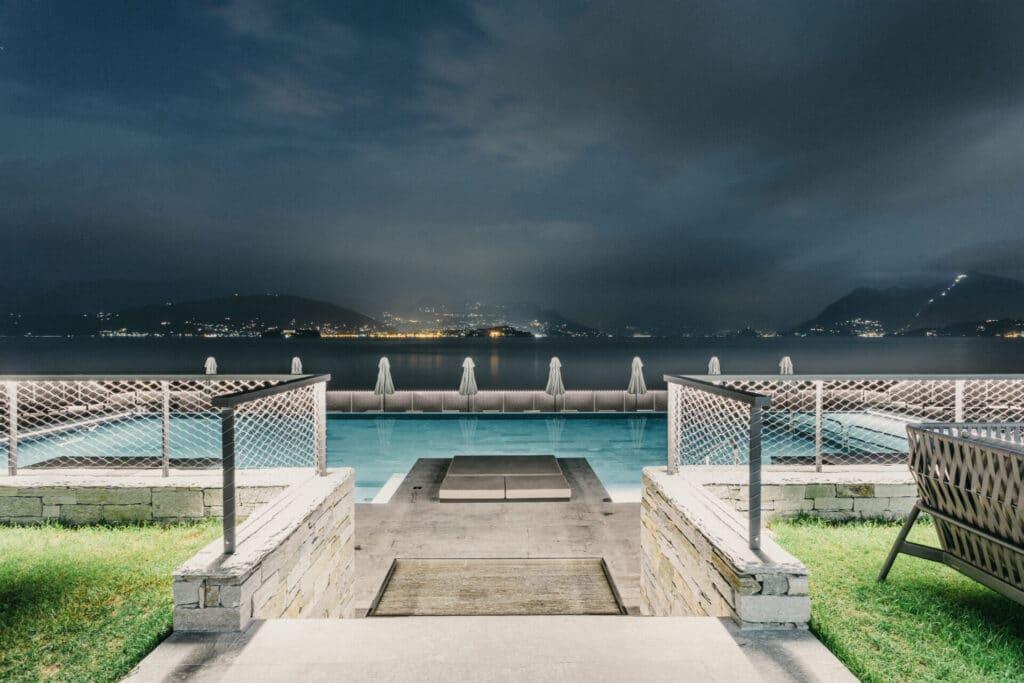 Stresa in un giorno hotel la palma piscina